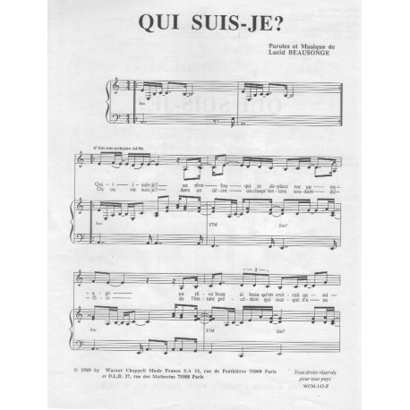 Lucid Beausonge / Qui suis-je ?
