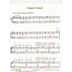 Partition - Toulé Poulé
